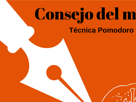 Consejo del mes: La técnica Pomodor