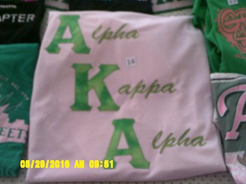 Pale Pink Alpha Kappa Alpha Jersey