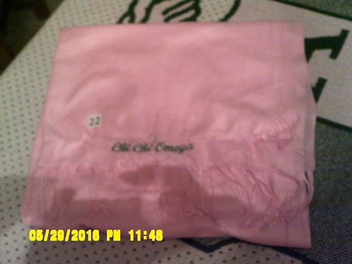 Pink Chi Chi Omega Scarf (As Is)