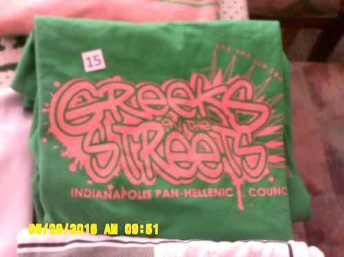 Greeks in the Street t-shirt