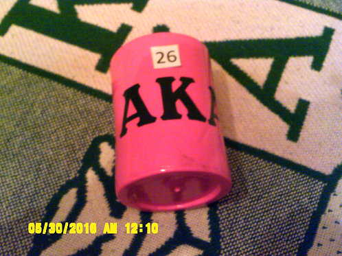Pink AKA Can Koozie (Pink & Green)