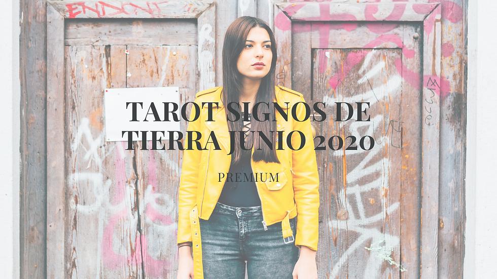 Tarot signos de Tierra Junio 2020