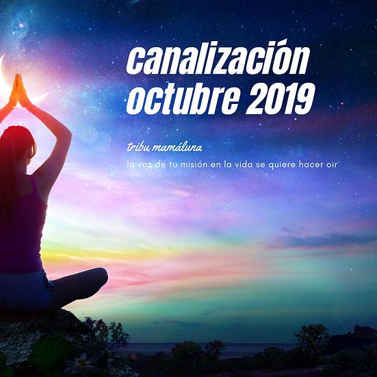 Canalización del Espíritu Octubre 2019