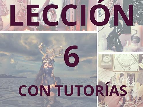LECCIÓN 6 CON TUTORÍAS CURSO DE MAGIA NATURAL