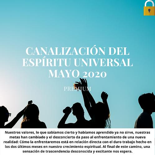 Canalización del Espíritu Universal Mayo 2020