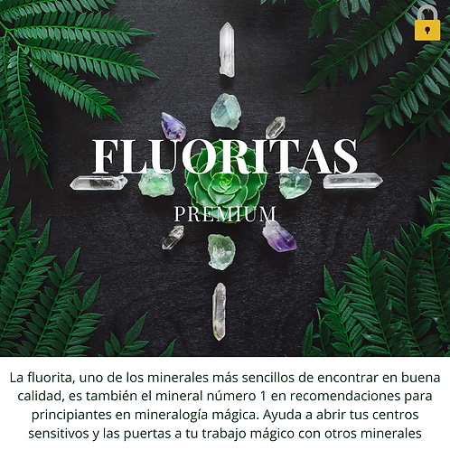 Minerales | Fluorita, abre tu sensibilidad