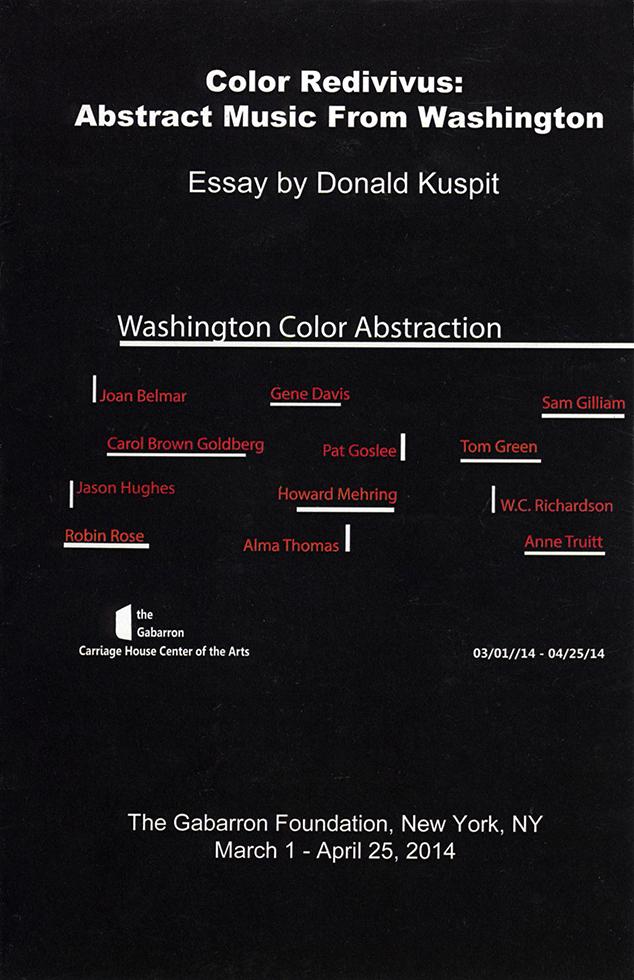 Washington Color Abstraction