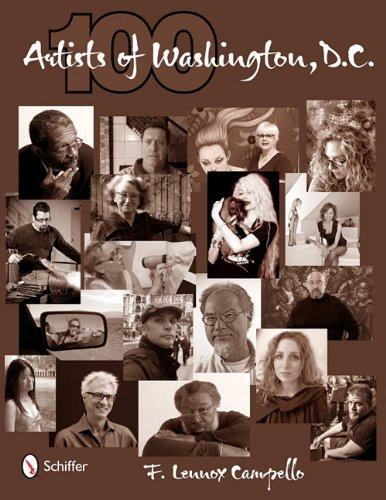100 Artists of DC, F. Lennox Campello, Schiffer Publishing