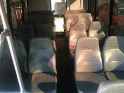 Leather seats with air conditioning
