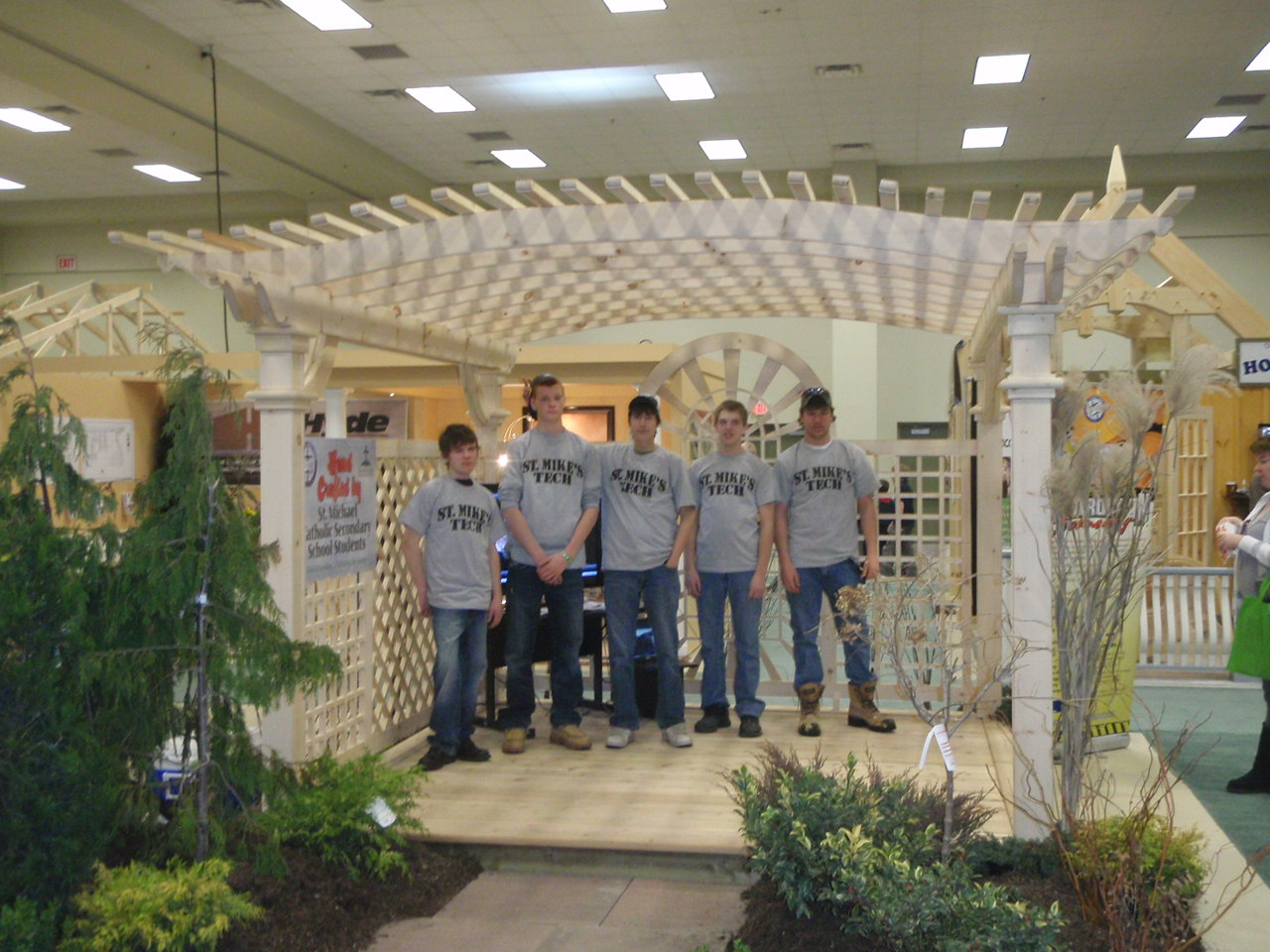 High Skills Major Gazebo 2011