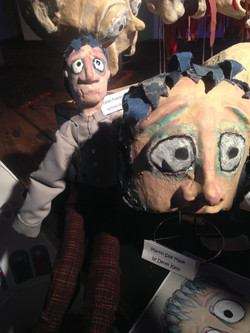 Martin Sale Puppet and Mask
