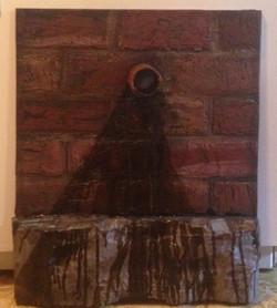 Brick and Metal Pipe Wall