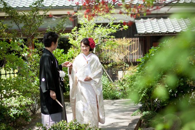 神戸・花嫁が七五三をした神社で神前式・灘の酒蔵での披露パーティ