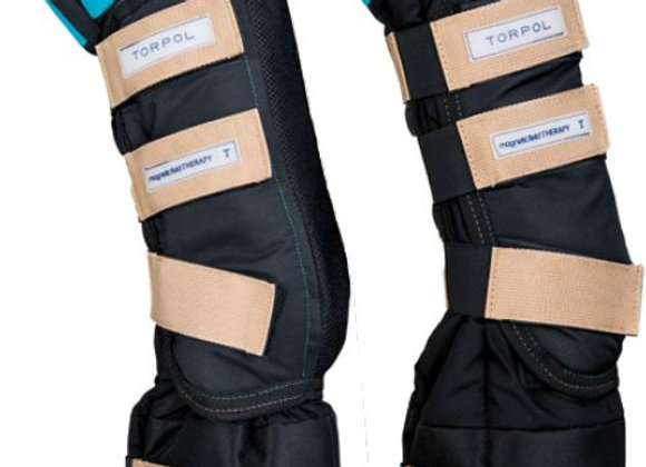 Ногавки магнитные (с защитой копыта) HoofCare MG