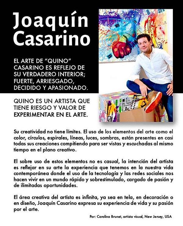 Gracias Carolina Brunet #quinocasarinopi