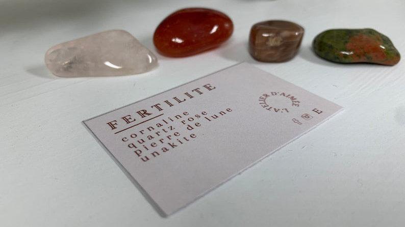 Kit d'intention cristaux -Fertilité