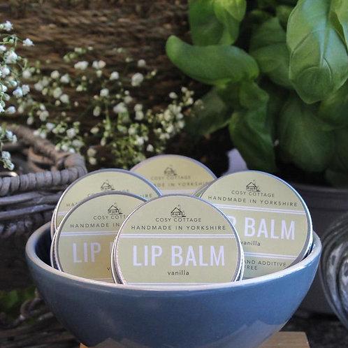 Baume à lèvres hydratante à la vanille