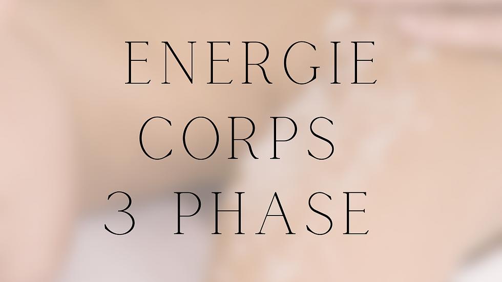 Energie corps 3 phase - Carte cadeaux