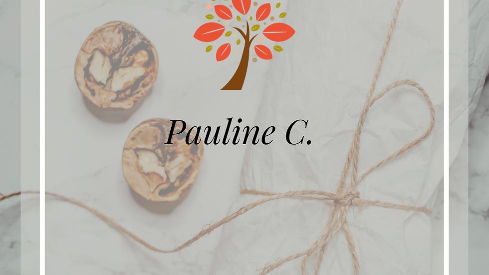 Commande personnalisé Pauline