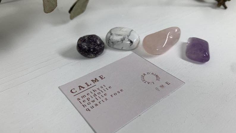 Kit d'intention cristaux - Calme