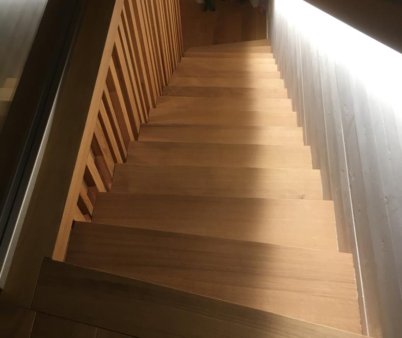 escalier vue 1
