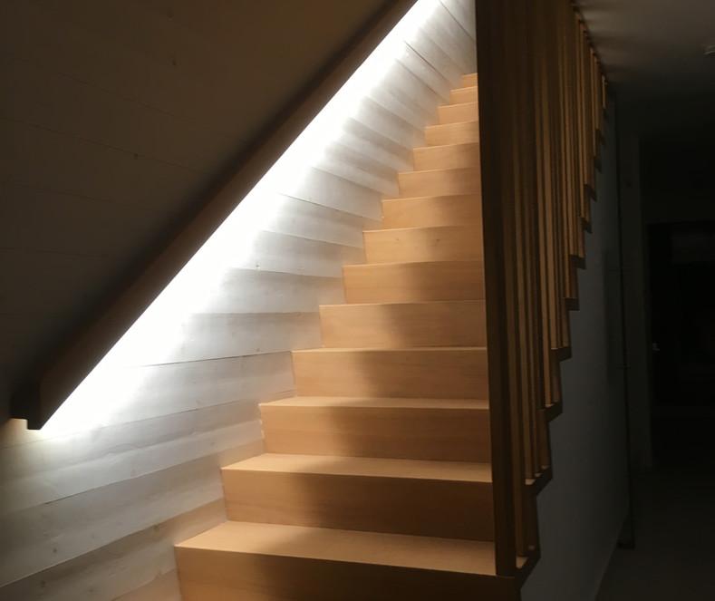 escalier vue 2