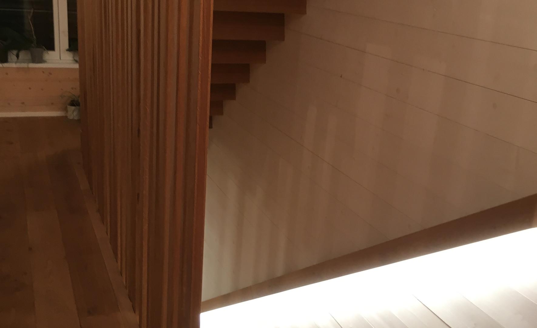 escalier vue 3