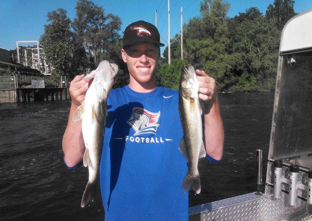 June Walleye Fishing
