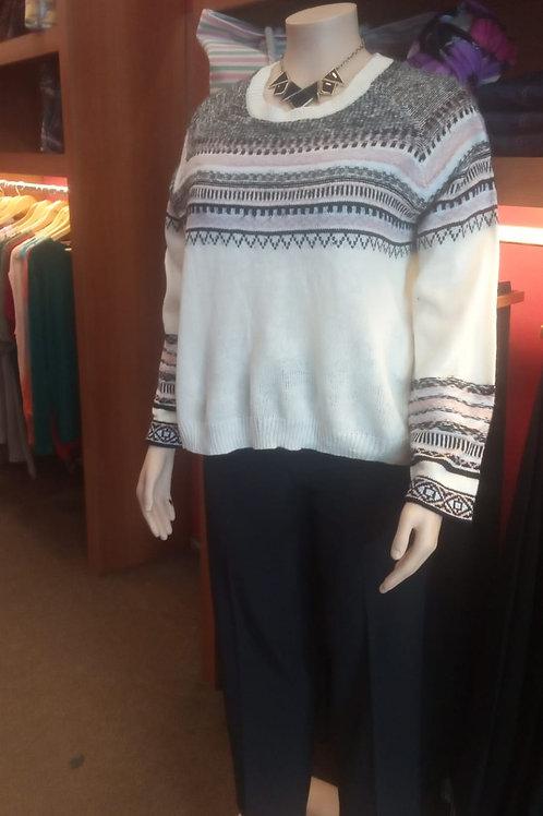 Sweater Combinado