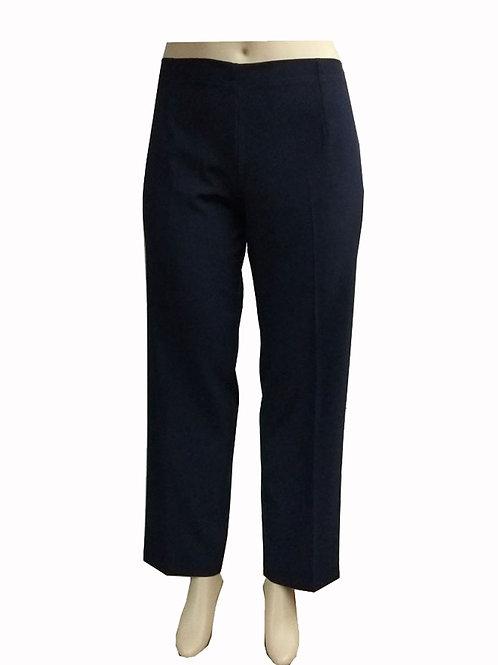 Pantalon Con Pretina y Elastico Azul