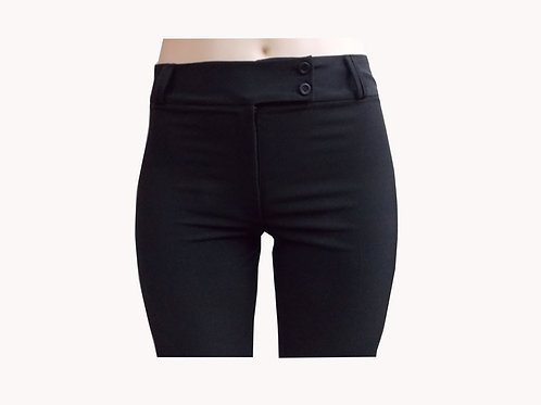 Pantalon Pretina Ancha Negro