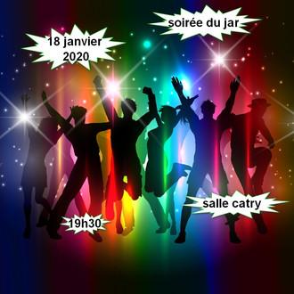 SOIRÉE DU CLUB LE 18 JANVIER 2020