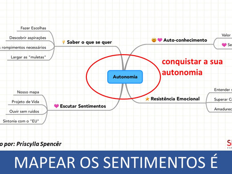 MAPEANDO SENTIMENTOS - Como conquistar a sua autonomia na vida e nos negócios?