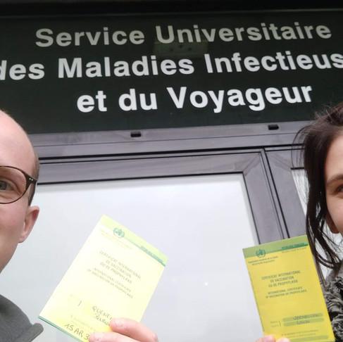 Les vaccins à prévoir pour un tour du Monde.
