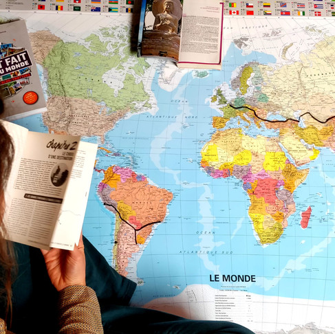 Planifier et choisir l'itinéraire d'un tour du Monde à vélo !