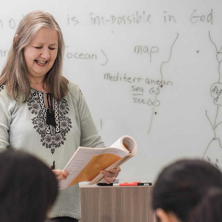 Bible League International Mommies English Class