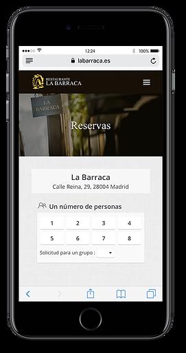 lyra-mockup-iphone-reservas-la-barraca-restaurante