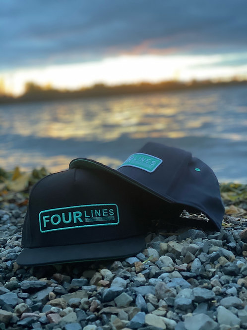 FOURLINES Patch Hat
