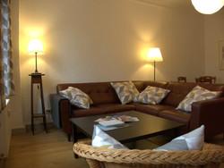 Ferienwohnung Wohnzimmer (Sofa)