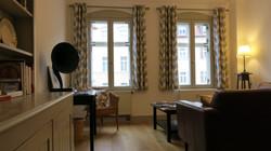 Ferienwohnung Wohnzimmer (Fenster)