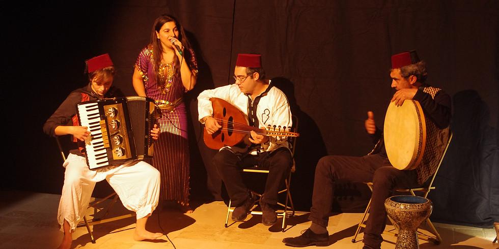 Concert de musique tunisienne - hommage à Habiba Msika