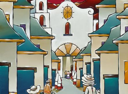 SJ Shaffer, Artist in Eldorado at Santa Fe