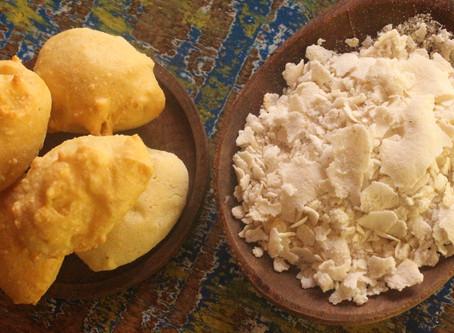 BOLINHOS DE FARINHA DE MILHOBIJU (Parecidoscompão de queijo)