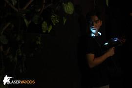 黑暗森林設計的鐳射槍場地:營造緊張又刺激的玩樂氣氛