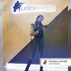 @honeyho_mermaid 黎Laser Woods