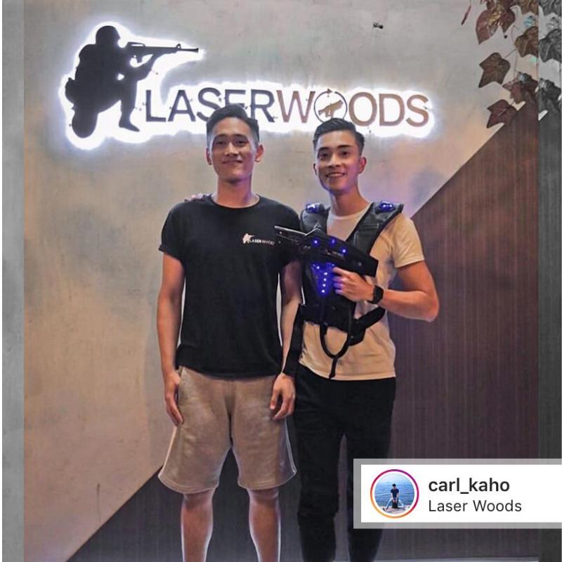 @carl_kaho 黎Laser Woods