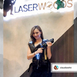 @claudiawhn 黎Laser Woods玩