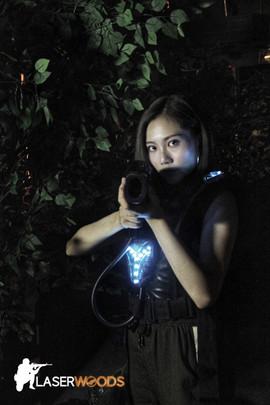 香港好去處:穿上鐳射槍設備,一同與好友大戰!