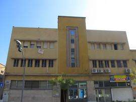 מבנה בסגנון הבינלאומי ברחוב הנמל