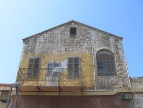 חזית מבנה ברחוב נתנזון